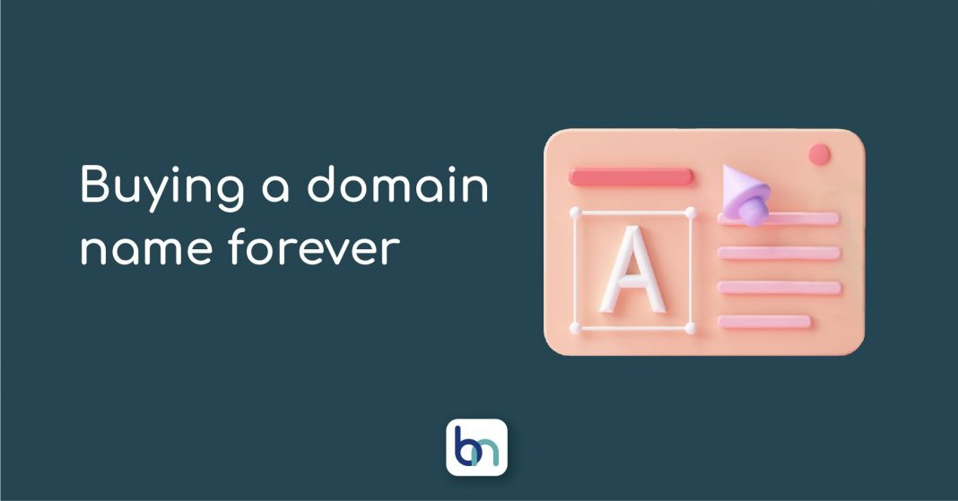buy a domain name forever